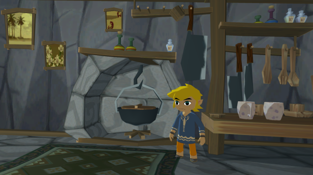 Nintendo-Dolphin-1080p-Wallpaper-06-Zelda-Wind-Waker-Outset-Island-House-Interior