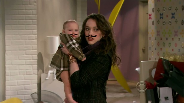 2-Broke-Girls-baby