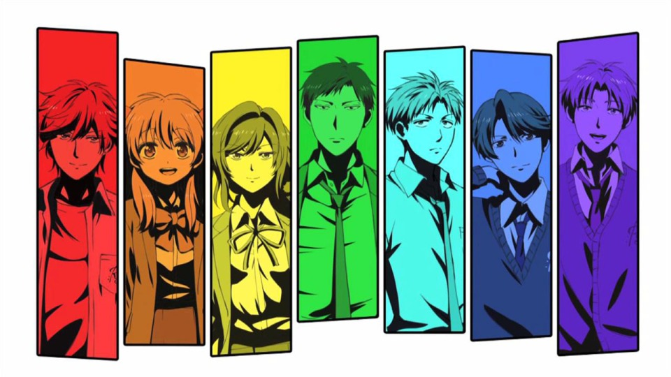 Gekkan Shoujo Characters