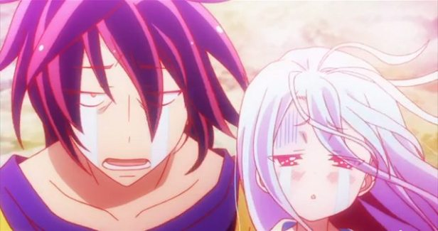 Unhappy Sora and Shiro