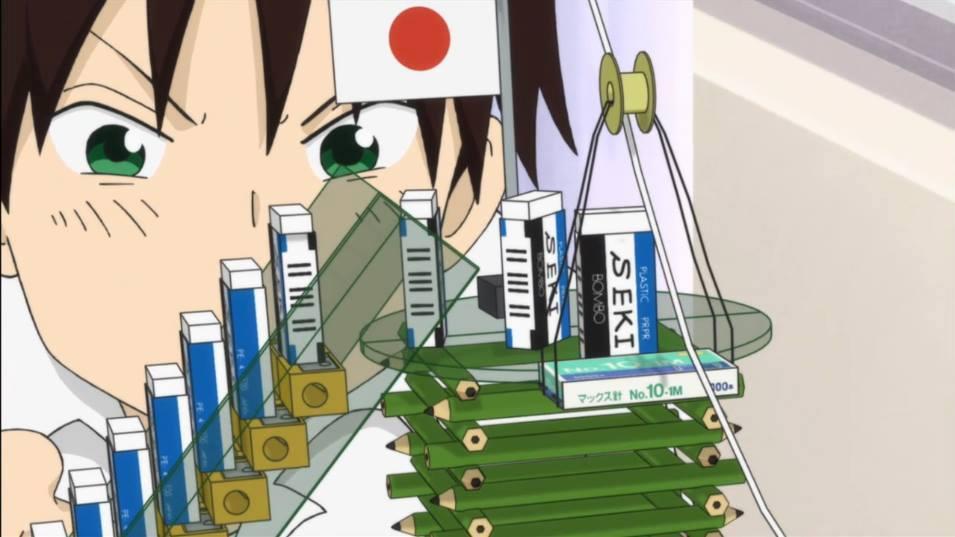 The Elaborate eraser Dominoes/Rube Goldberg Machine